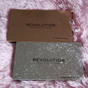 Bundle of Makeup Revolution London Palettes